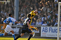Photo: Tony Oudot/Richard Lane Photography. Bristol Rovers v Leicester City. Coca-Cola Football League One. 21/02/2009. <br /> Matty Fryatt of Leicester City (out of shot) sees his header fly into the net past Bristol Rovers keeper Steve Phillips