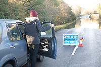 christmas flooding in the village of stratton audley roads have been flooded for three days