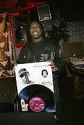 KRS-ONE at The Smirnoff Press Conference announcing Music Series held at Element on February 26, 2008