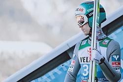 31.12.2020, Olympiaschanze, Garmisch Partenkirchen, GER, FIS Weltcup Skisprung, Vierschanzentournee, Garmisch Partenkirchen, Qualifikation, Herren, im Bild Michael Hayboeck (AUT) // Michael Hayboeck of Austria during qualification jump of men's Four Hills Tournament of FIS Ski Jumping World Cup at the Olympiaschanze in Garmisch Partenkirchen, Germany on 2020/12/31. EXPA Pictures © 2020, PhotoCredit: EXPA/ JFK