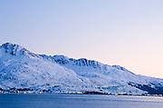Alaska, Valdez. Alyeska Pipeline terminal.