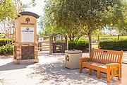 Stone Monument for La Paws Dog Park