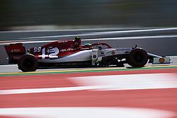 May 11, 2019 - Barcelona, Catalonia, Spain - Antonio Giovinazzi of Italy driving the (99) Alfa Romeo Racing C38 during qualifying for the F1 Grand Prix of Spain at Circuit de Barcelona-Catalunya on May 11, 2019 in Barcelona, Spain. (Credit Image: © Jose Breton/NurPhoto via ZUMA Press)