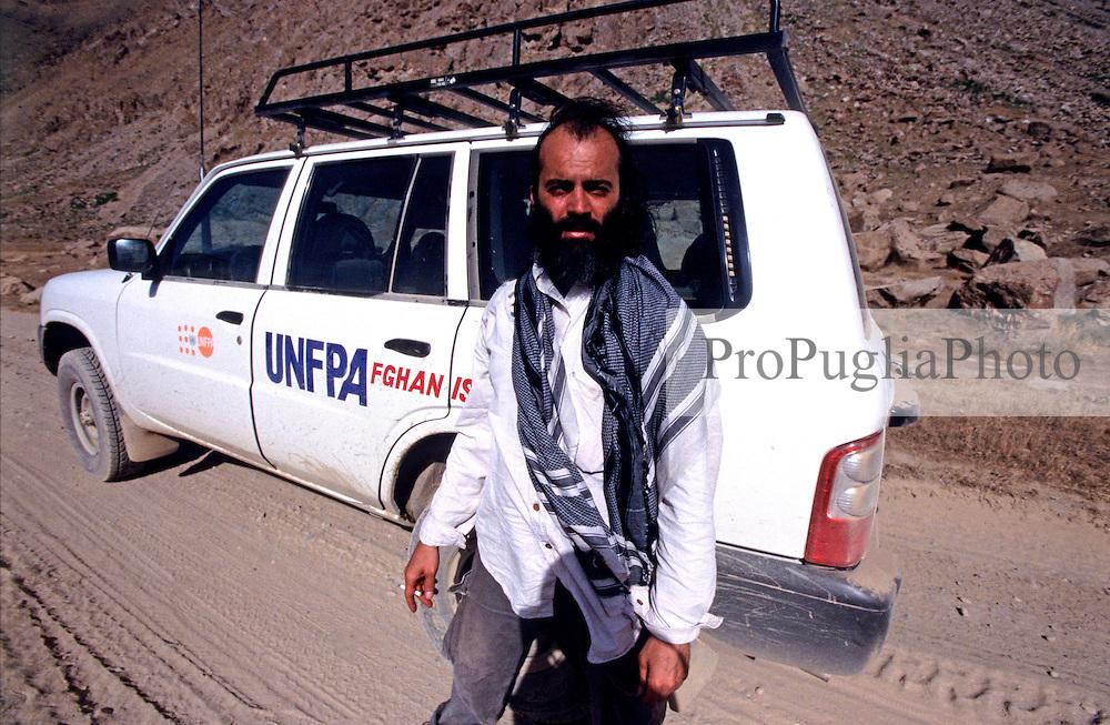Kash Gabriele Torsello on the Road in Badakhshan with UNFPA Team