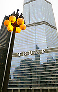 Trump tower in Chicago Illinois, USA