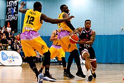 Panos Mayindombe of Bristol Flyers - Photo mandatory by-line: Robbie Stephenson/JMP - 10/04/2019 - BASKETBALL - UEL Sports Dock - London, England - London Lions v Bristol Flyers - British Basketball League Championship