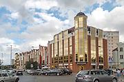 Gdańsk, (woj. pomorskie) 18.07.2016. Budynki przy ulicy Długie ogrody.