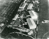 1919 Aerial of Thomas Ince's second studio in Culver City, CA