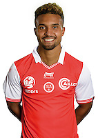 Frederic Bulot of Reims during the photocall of Reims for new season of Ligue 2 on September 29th 2016 in Reims<br /> Photo : Stade de Reims / Icon Sport