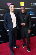 April 8, 2019-New York, New York-United States: (L-R) Eric Gotttesman (Honoree) and Hank Willis Thomas, For Freedoms (Honoree) attend the Bronx Museum Gala & Art Auction 2019 held at Capitale on April 8, 2019 in New York City. The Bronx Museum of the Arts is a contemporary art museum that connects diverse audiences to the urban experience through its permanent collection, special exhibitions, and education programs that strive to reflect the borough's dynamic communities. (Photo by Terrence Jennings/terrencejennings.com)