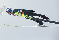 Gregor Schlierenzauer (AUT) // Gregor Schlierenzauer of Austria flying in the air during Trial Round at Day 1 of FIS Ski World Flying Championship Planica 2020, on December 10, 2020 in Planica, Kranjska Gora, Slovenia. Photo by Vid Ponikvar / Sportida