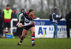 Lucy Attwood of Bristol Ladies passes the ball - Mandatory by-line: Paul Knight/JMP - 03/02/2018 - RUGBY - Cleve RFC - Bristol, England - Bristol Ladies v Harlequins Ladies - Tyrrells Premier 15s