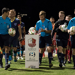 7th August 2016 - NPLQLD Snr Men RD20: Olympic FC v Gold Coast City