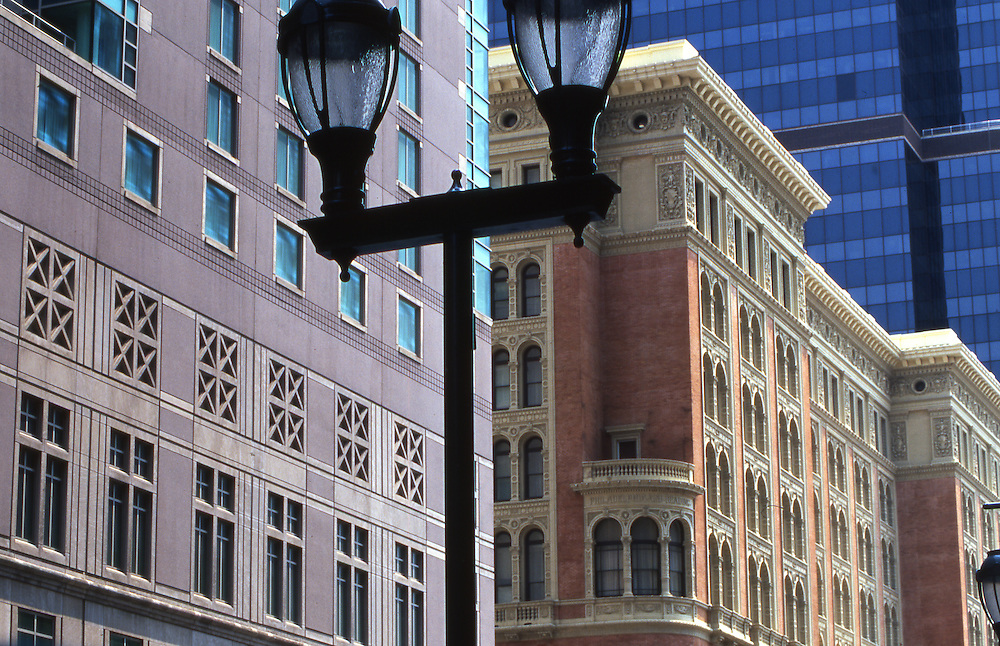 Exterior of restored Reading Station, Marriot Hotel, Market Street, Philadelphia, PA