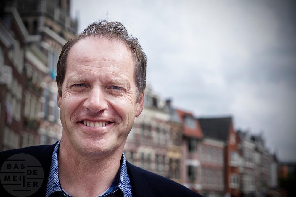 Tourbaas Christian Prudhomme in Utrecht.