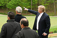 Donald Trump at the opening of Trump National Golf Club Washington DC