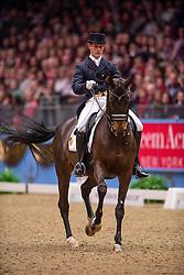 Missiaen Simon (BEL) - Vradin<br /> Kur - Reem Acra FEI World Cup Dressage Qualifier - The London International Horse Show Olympia - London 2012<br /> © Hippo Foto - Jon Stroud
