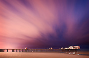 Dusk over the North Pier - Blackpool, Lancashire, England