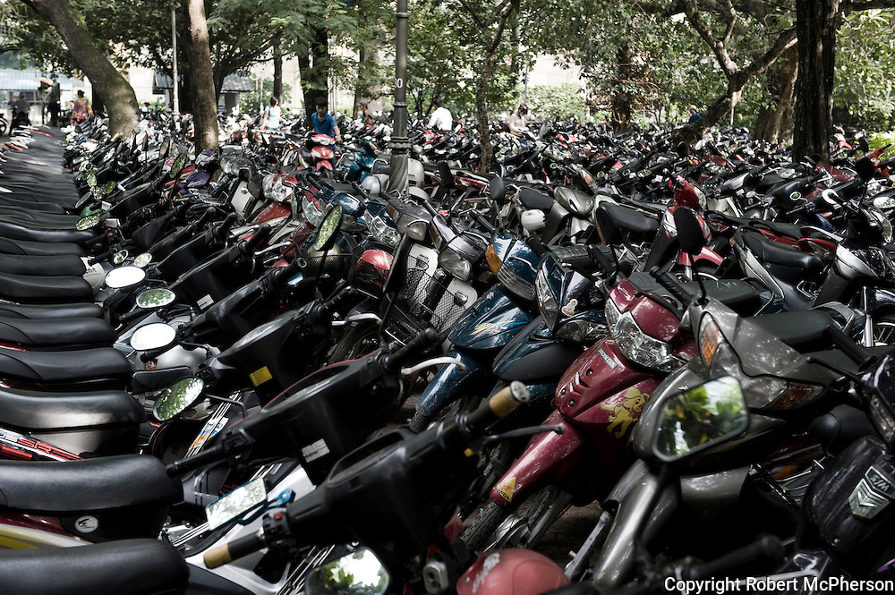 Scooter accidents have become the largest cause of death in Vietnam. In Vietnam there are over 20 million scooters. Every second person owns a scooter in Vietnam. Every day over 30 Vietnamese die in traffic accidents. In Ho Chi Minh City previously called Saigon there are over 3 million scooters.