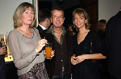 Left to right, LADY HESKETH, NICKY HASLAM and SABRINA GUINNESS at a party to celebrate the 4th anniversary of Quintessentially held at 11 Grosvenor Place, London  SW1 on 14th December 2004.<br />