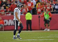 KANSAS CITY, MO - OCTOBER 20:  Quarterback Case Keenum #7 of the Houston Texans walks off the field late in the fourth quarter during a game against the Kansas City Chiefs on October 20, 2013 at Arrowhead Stadium in Kansas City, Missouri.  Kansas City won 17-16. (Photo by Peter Aiken/Getty Images) *** Local Caption *** Case Keenum