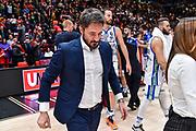 Gianmarco Pozzecco<br /> A|X Armani Exchange Olimpia Milano - Banco di Sardegna Dinamo Sassari<br /> Legabasket LBA Serie A 2019-2020<br /> Sassari, 16/11/2019<br /> Foto L.Canu / Ciamillo-Castoria