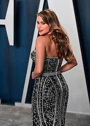 Sofia Vergara attending the Vanity Fair Oscar Party held at the Wallis Annenberg Center for the Performing Arts in Beverly Hills, Los Angeles, California, USA.