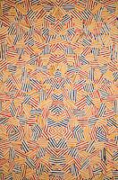"Washington DC, National Gallery. Modern painting with ""Kaleidoscope"" theme"