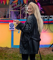 Kristal Roxx at the Also Festival Park Farm, Compton Verney, Warwick 29th aug 2020 photo by Mark Anton Smith