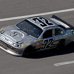 April 17, 2011; Talladega, AL, USA; NASCAR Sprint Cup Series driver Terry Labonte (32) during the Aarons 499 at Talladega Superspeedway.   Mandatory Credit: Derick E. Hingle