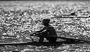 Brandenburg. GERMANY. GBR LW1X. Imogen WALSH, <br /> 2016 European Rowing Championships at the Regattastrecke Beetzsee<br /> <br /> Sunday  08/05/2016<br /> <br /> [Mandatory Credit; Peter SPURRIER/Intersport-images]