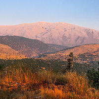 Mount Hermon and Wadi et-Taym