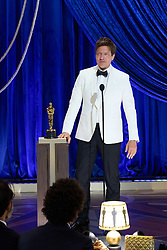 Thomas Vinterberg accepts the Oscar® for International Feature Film on behalf of Denmark during the live ABC Telecast of The 93rd Oscars® at Union Station in Los Angeles, CA, USA on Sunday, April 25, 2021. Photo by Todd Wawrychuk/A.M.P.A.S. via ABACAPRESS.COM