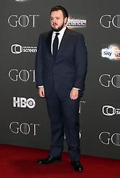 John Bradley attending the Game of Thrones Premiere, held at Waterfront Hall, Belfast.