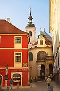 Liliova Street sign Prague - Czech Republic
