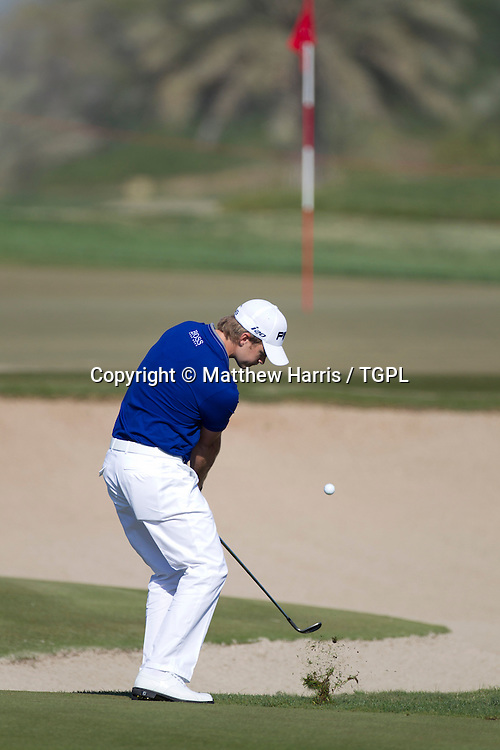 Tom LEWIS (ENG) during  round,Abu Dhabi HSBC Championship 2013,Abu Dhabi Golf Club,Abu Dhabi,20th January 2013.