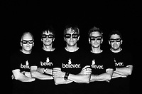 Promo shot for That Petrol Emotion during their 2009 tour