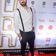 NLD/Amsterdam/20181217 - Hashtag Awards 2018, Tim Hofman