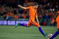 07-10-2016 NED: WK kwalificatie Nederland - Wit-Rusland, Rotterdam<br /> Het Nederlands elftal heeft in De Kuip een 4-1 overwinning op Wit-Rusland geboekt / Kevin Strootman