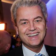 NLD/Amsterdam/20121126- Kika veiling 2012 foto's Veronica gids, Geert Wilders