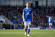 Chesterfield midfielder Louis Reed (25) during the EFL Sky Bet League 2 match between Chesterfield and Notts County at the b2net stadium, Chesterfield, England on 25 March 2018. Picture by Jon Hobley.