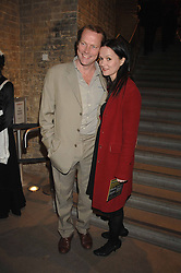 IAIN GLEN and CHARLOTTE EMMERSON at Fast Forward - a fund-raising party for the National Theatre held at The Roundhouse, London NW1 on 1st March 2007.<br /><br />NON EXCLUSIVE - WORLD RIGHTS