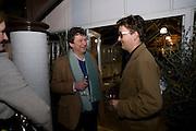 ROWLEY LEIGH; SAM CLARK, David Macilwaine sculptures at Clifton Nurseries. London. 1 April  2009