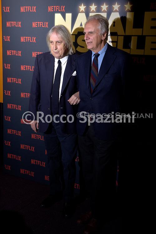ENRICO VANZINA MARCO RISI PHOTOCALL<br /> del film NATALE A 5 STELLE di  MARCO RISI. 7 dicembre 2018
