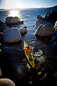 Tahoe Winter Kayaking