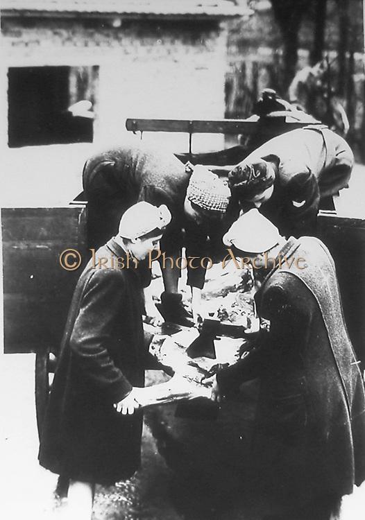 Female slave labourers in Poland under in Nazi occupation c1941.