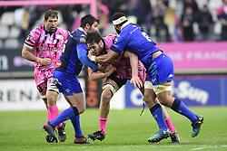 March 23, 2019 - Paris, France, FRANCE - Paul Gabrillagues (St Francais) vs Ma Ama Vaipulu  (Credit Image: © Panoramic via ZUMA Press)
