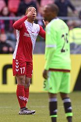 13-12-2015 NED: FC Utrecht - AFC Ajax, Utrecht<br /> Utrecht verslaat Ajax opnieuw in de Galgenwaard 1-0 / Sean Klaiber #17 USA