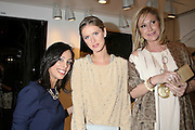 Chloe manager Azzy Rabbie, Nicky Hilton, and Kathy Hilton