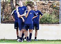 Fotball , 7. januar 2013 , Strømsgodset har startet oppkjøringen til sesongen på Kanariøyene<br /> Gustav Mendonca Wikheim , Lars Sætre , Iver Fossum (th) , SIF